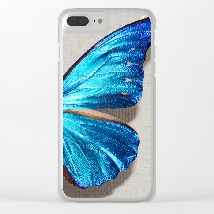 Morpho Clear iPhone Case