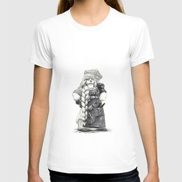 "Inktober 2017 #4 ""Mighty dwarfish woman"" T-shirt"