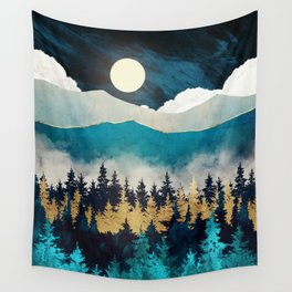 Evening Mist Wall Tapestry