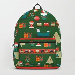 Santa's Christmas laboratory Backpack