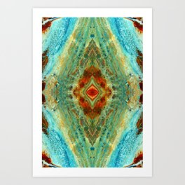 acrylic 3 Art Print
