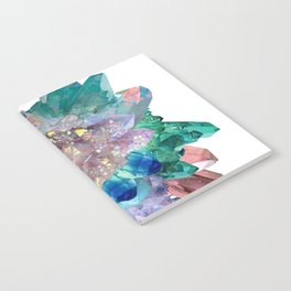 Aura Crystal Bouquet Mandala Notebook