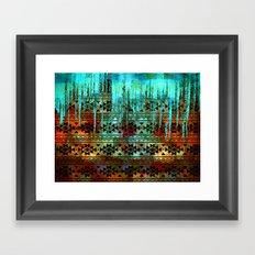 Southwest Icicles Framed Art Print