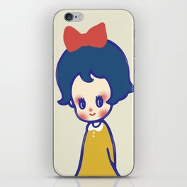 a little girl  iPhone Skin