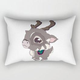 Bitty Reindeer Rectangular Pillow