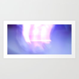 painting with light no. 2 Art Print