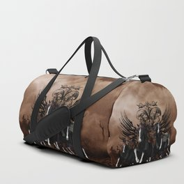 Awesome wild horses Duffle Bag