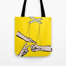 Rock, Paper, Scissors Tote Bag