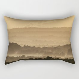 Sunrise over Connecticut Rectangular Pillow