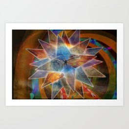 Fly for The Buddah Art Print