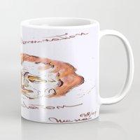 mozart Mugs featuring Mozart & Salieri by MENAGU'