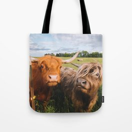 Highland Cows - Blep Tote Bag