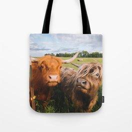 Highland Cows - Blep Tote Bag