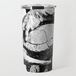 Hand Turtle Travel Mug