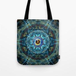 """Om Namah Shivaya"" Mantra- The True Identity- Your self Tote Bag"