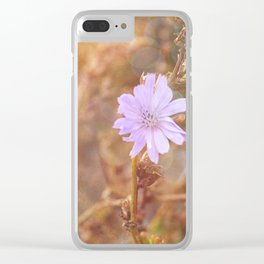 Lilac Charm Clear iPhone Case