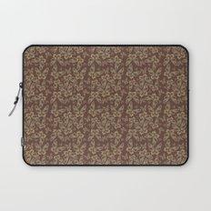 Chocolate Butterflies Laptop Sleeve