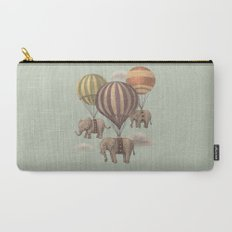 Flight of the Elephants - mint option Carry-All Pouch
