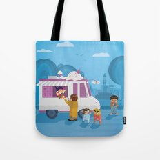 The Nick Yorkers in August Tote Bag