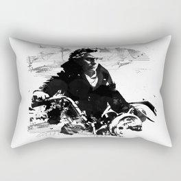 Beethoven Motorcycle Rectangular Pillow