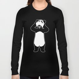 Lucha Panda Long Sleeve T-shirt