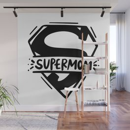 Supermom Wall Mural