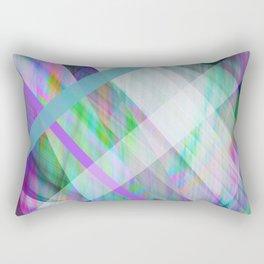 Crystal Rave Rectangular Pillow