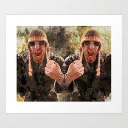 Strong Man Art Print