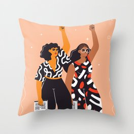 Feminism is for everybody Throw Pillow