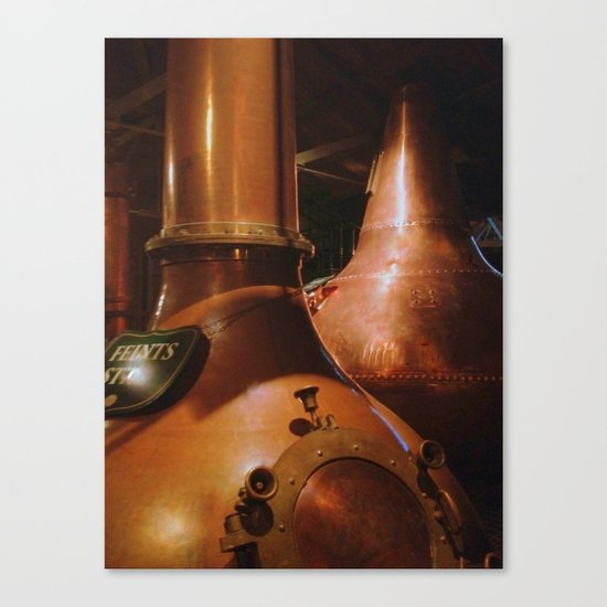 Copper and Whiskey Canvas Print