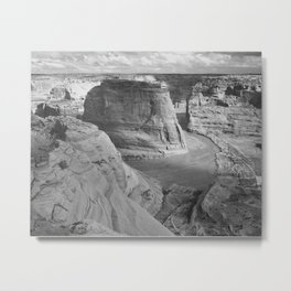 Ansel Adams - Canyon de Chelly National Monument Metal Print