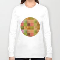 quilt Long Sleeve T-shirts featuring quilt by Isabella Asratyan