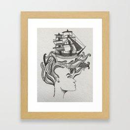 Petit Marin Framed Art Print