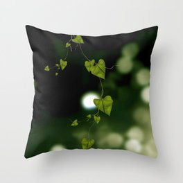 Looking somewhere else Throw Pillow