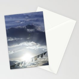 Prayer Flags at Sunset Stationery Cards