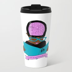 A zine as weird as you are. Metal Travel Mug