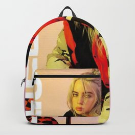 billie eilish merch Backpack