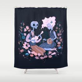 Rhythm of Grief Shower Curtain