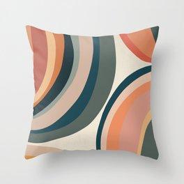 Circular - Modern Art Print Throw Pillow