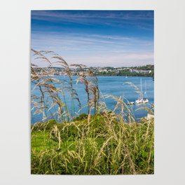 View of Kinsale, Ireland from Summer Cove Poster