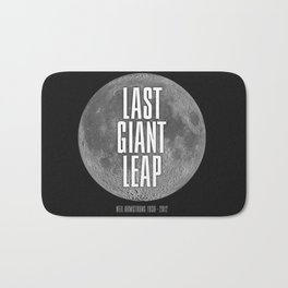 Last Giant Leap Bath Mat