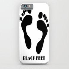 Black Feet Slim Case iPhone 6