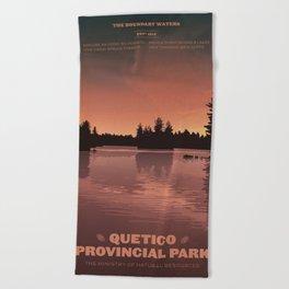 Quetico Provincial Park Beach Towel
