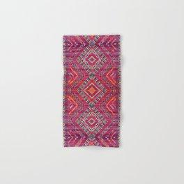 N118 - Pink Colored Oriental Traditional Bohemian Moroccan Artwork. Hand & Bath Towel