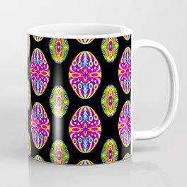 Bright Easter Egg Pattern Eastern Europe Design Style Coffee Mug