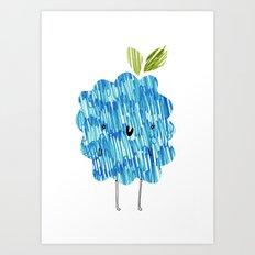 Eat Your Fruit! // Blackberry Art Print