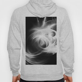 abstract fractals 1x1 reacbw Hoody