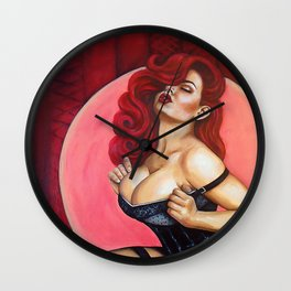 Drowning in Lust Wall Clock