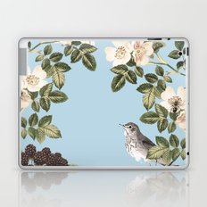 Birds and the Bees Blue Laptop & iPad Skin