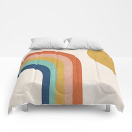 The Sun and a Rainbow Comforters